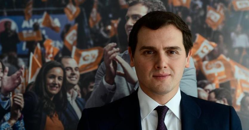 Albert Rivera, leader di Ciudadanos